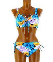 Maillot de Bain Bikini Push Up  44/52 - ANNICK -bl
