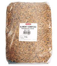 Sac de graines mélange pour oiseaux du jardin 12kg