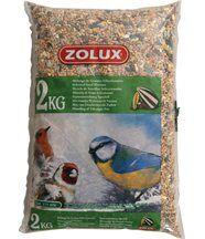 Sac de 2 kg de Mélanges de graines pour oiseaux du jardin
