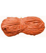 Pelote de raphia 50 grammes Orange