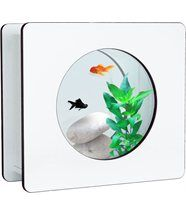 Aquarium 6 L Blanc Nano Fashion 32.5x12.2x29.5cm