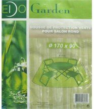 Housse de protection salon de jardin rond