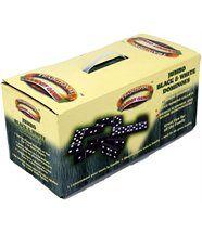 Jeu de dominos noir et blanc géants 18x10cm