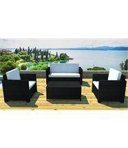 Salon jardin résine canapé et fauteuils