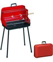 Barbecue pliable avec poignée valisette