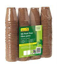Pots de plantation bio-dégradables (lot de 96)