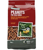 Cacahuètes pour oiseaux sauvages 2 kg