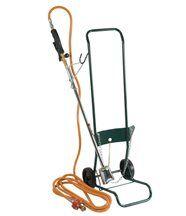 Kit de désherbage avec désherbeur thermique