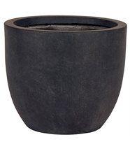 Pot de fleurs dublin  - diamètre 37,5 cm - gris foncé