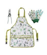 Kit du jardinier : tablier, gants, sécateur