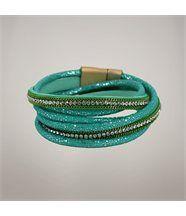 Bracelet SEOUL Chaîne Vert