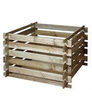 Bac à compost en bois Primo