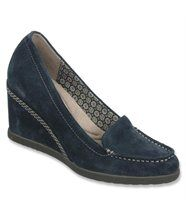 Chaussures en cuir retourné Femme PAISLEY