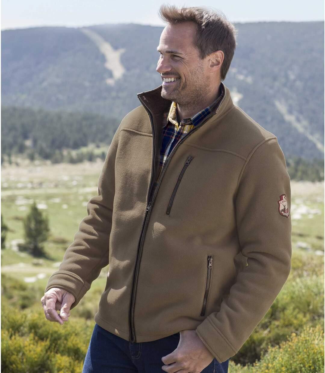 Флисовая Куртка с Подкладкой из Шерпы «Канада»