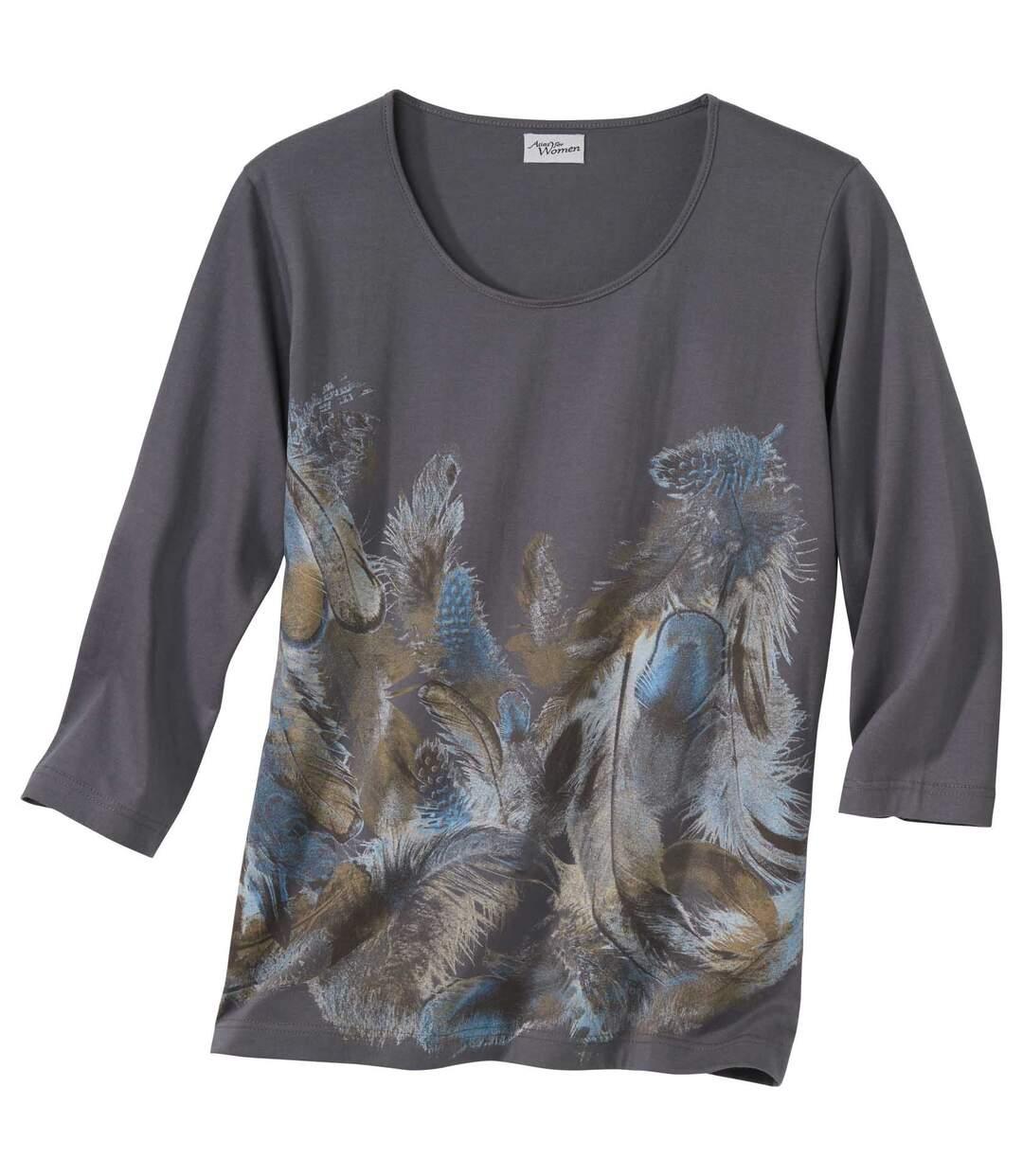 Блуза с Рукавами ¾