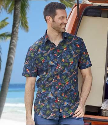 "Рубашка из Хлопка ""Гавайи"""