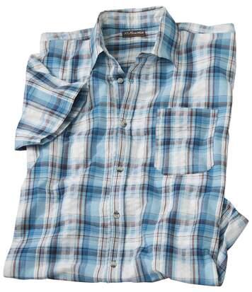 Рубашка из Гофрированного Хлопка