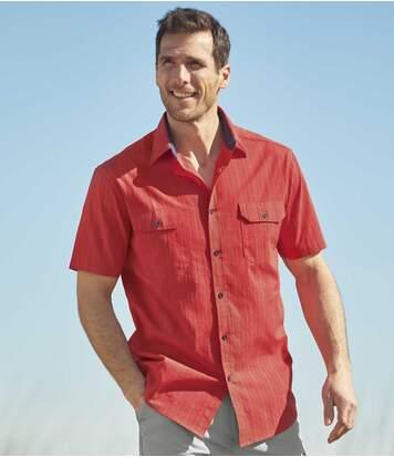 Рубашка из Ткани Добби