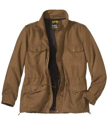 Куртка-сафари из Искусственной Замши